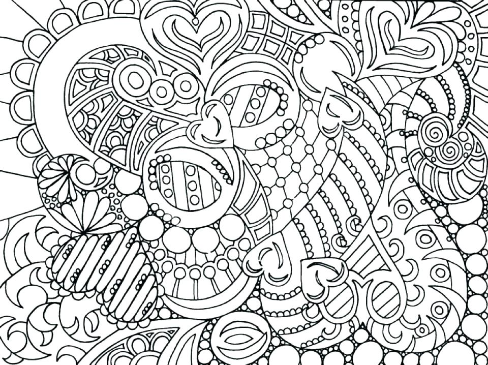 960x718 Free Printable Animal Mandala Coloring Pages Abstract Designs Page