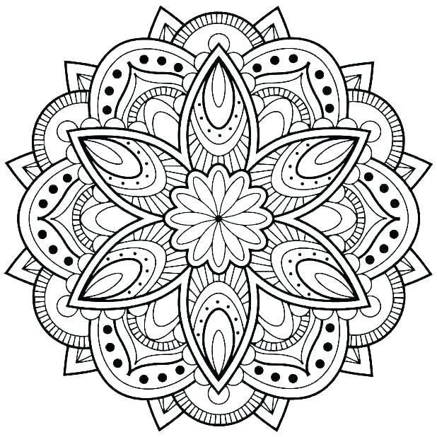 618x618 Mandala Art Coloring Pages Mandalas Coloring Pages Mandala