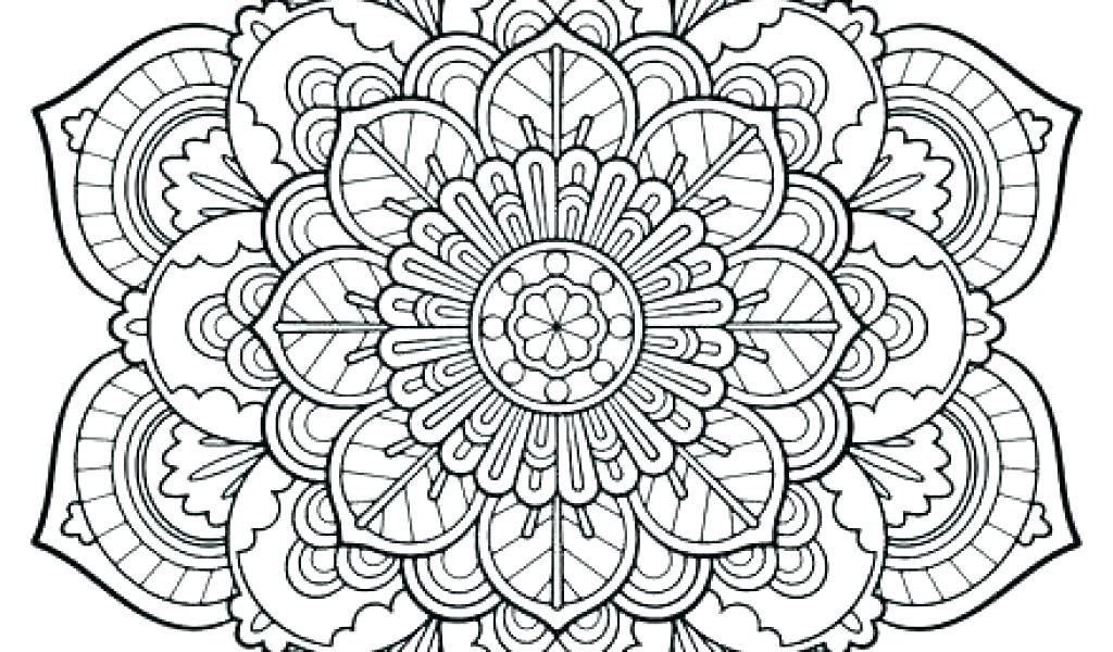 1024x600 Mandala Printable Coloring Pages Free Mandala Coloring Pages Free