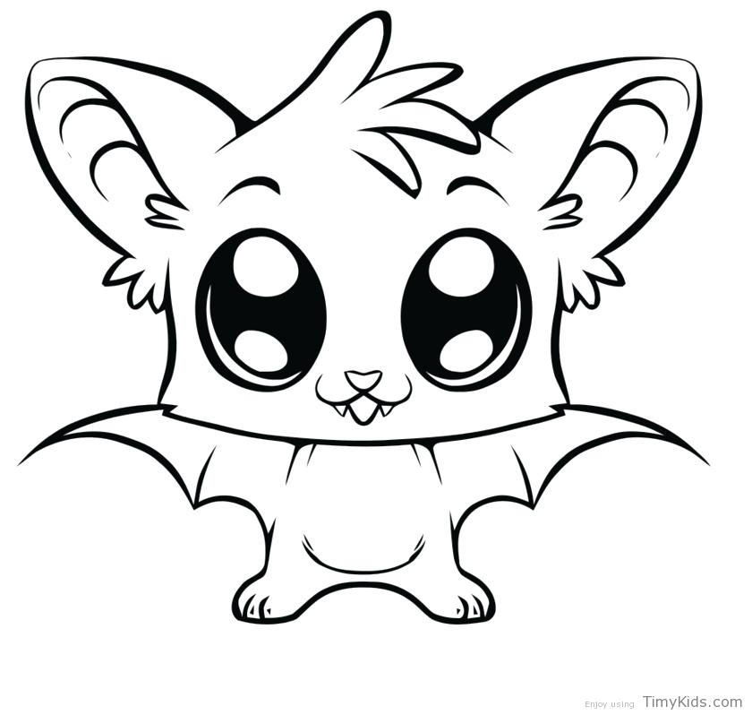 840x798 Animal Coloring Pages Cute Cartoon Animal Coloring Pages Animal