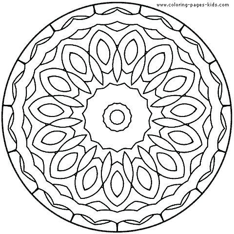 480x480 Printable Mandala Coloring Sheets Free Mandala Coloring Pages Free