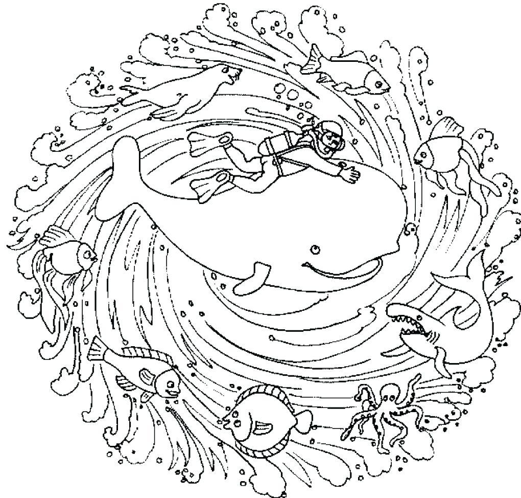 1020x974 Coloring Page Animal Mandala Coloring Pages Free Printable Pdf
