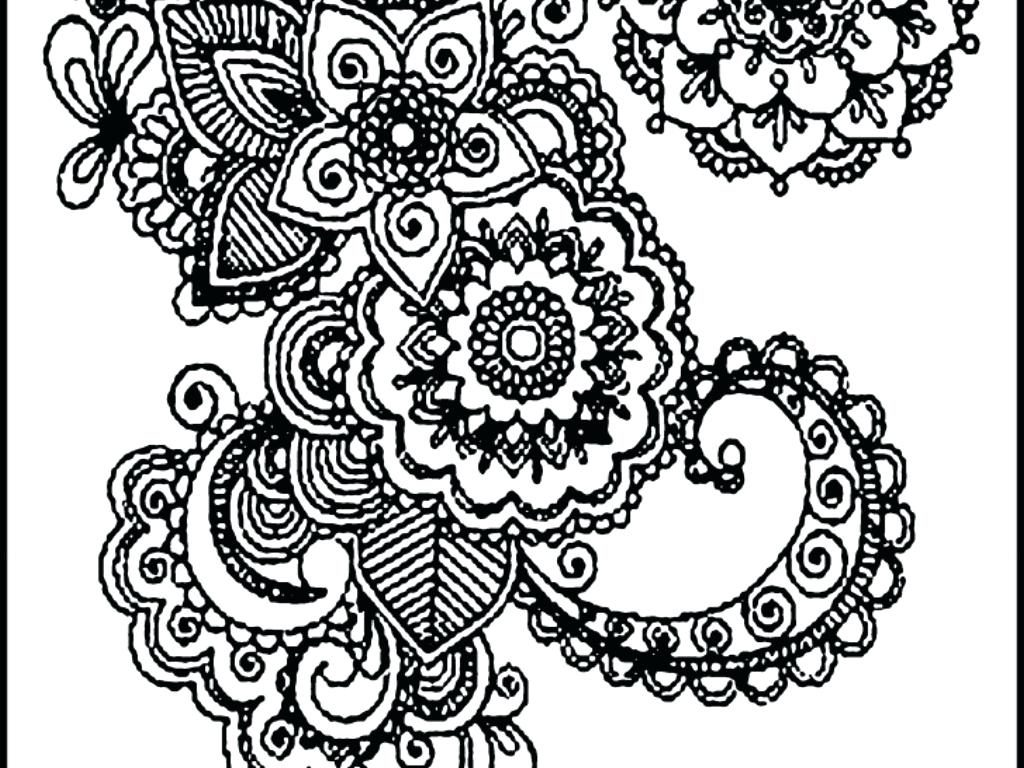 1024x768 Coloring Pages Mandala Coloring Pages For Adults Animals Mandala