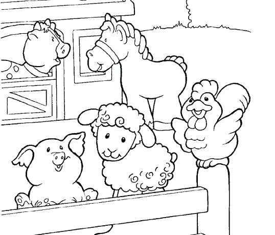 538x459 Animal Coloring Pages Printable Farm Animals Coloring Pages