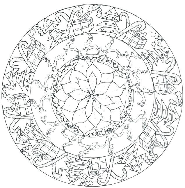 636x647 Animal Mandala Coloring Pages And Seahorse Animal Mandala Animal