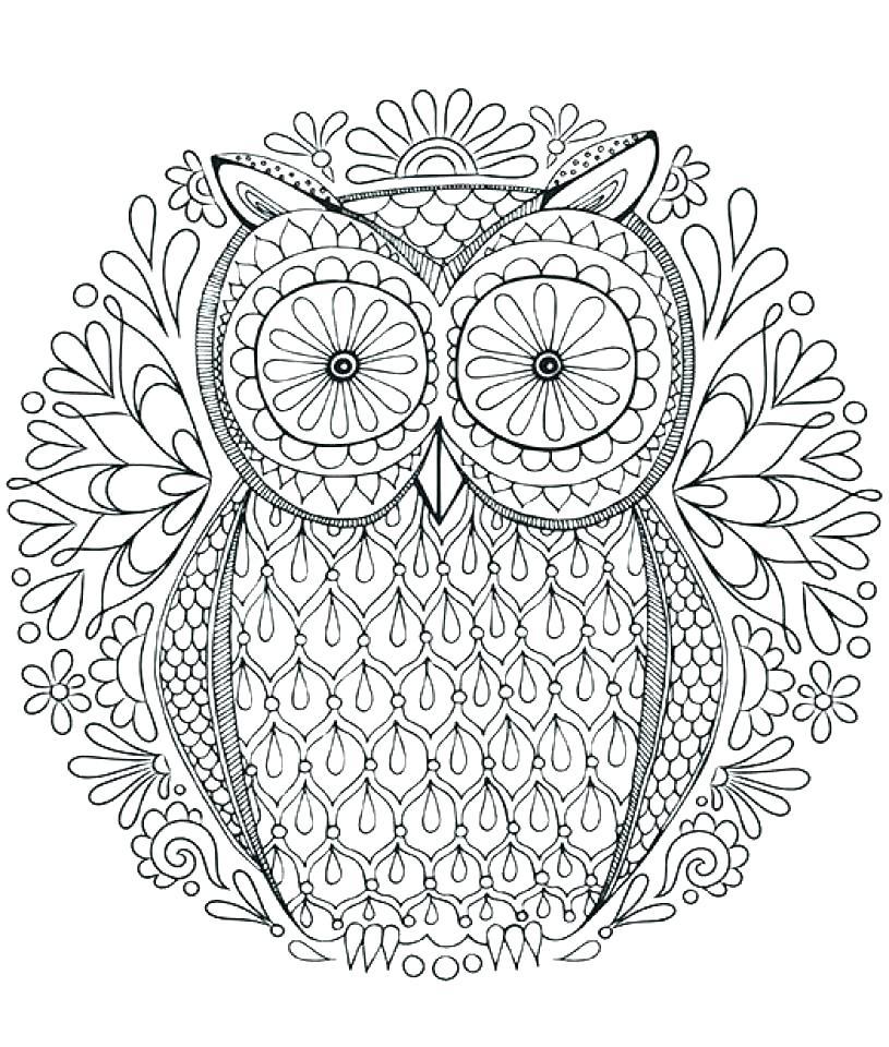 815x960 Animal Mandala Coloring Pages Free Printable Abstract Page