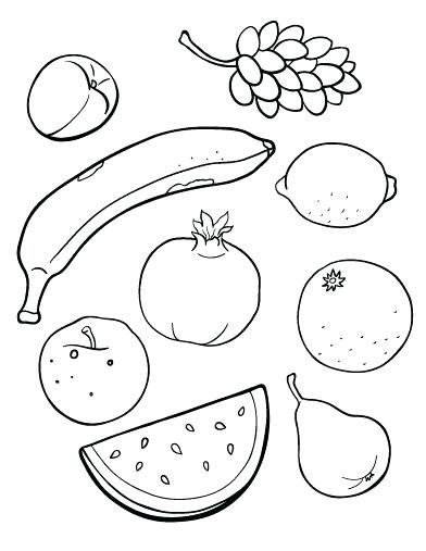 392x507 Free Apple Coloring Pages Fruit Color Pages Fruit Coloring Pages