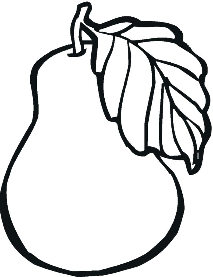 737x960 Apple Coloring Pages Fruit Coloring Pages Free Printable Fruit