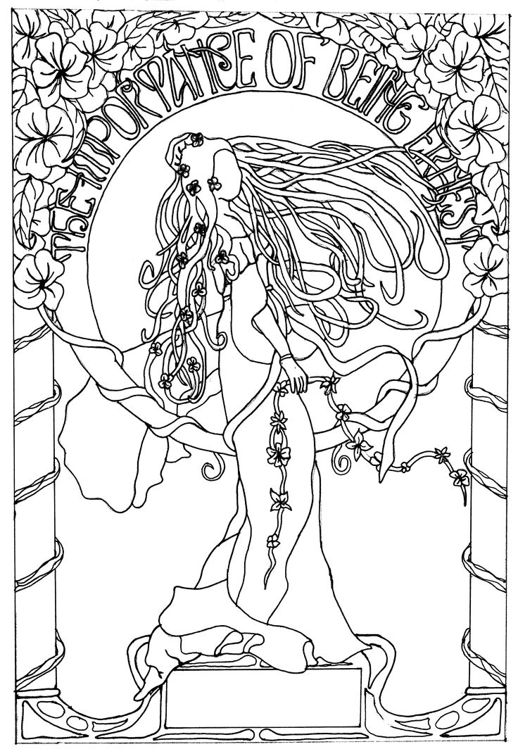 Free Printable Art Deco Coloring Pages