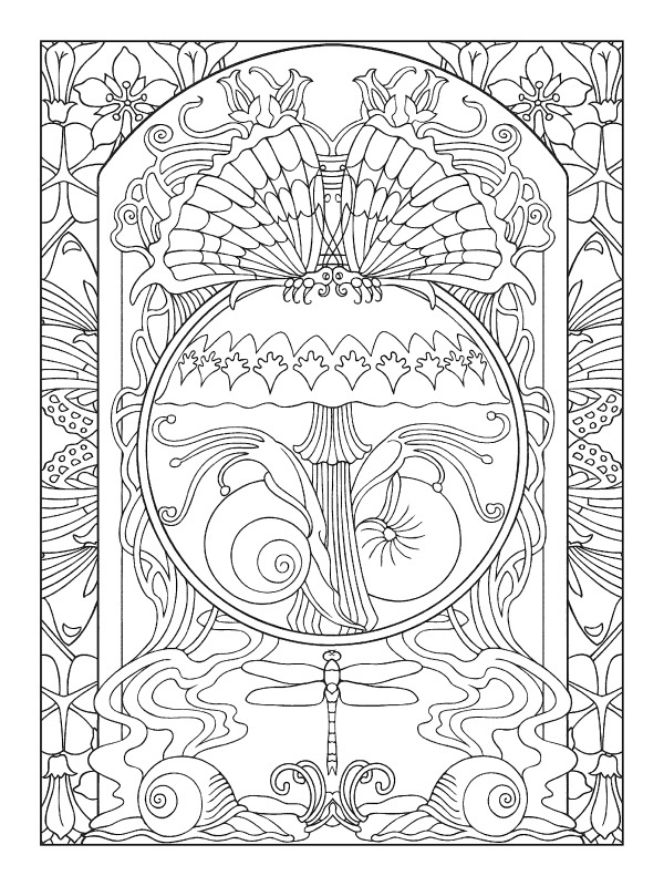 600x800 Art Deco Coloring Pages Fancy Art Deco Coloring Pages For Your