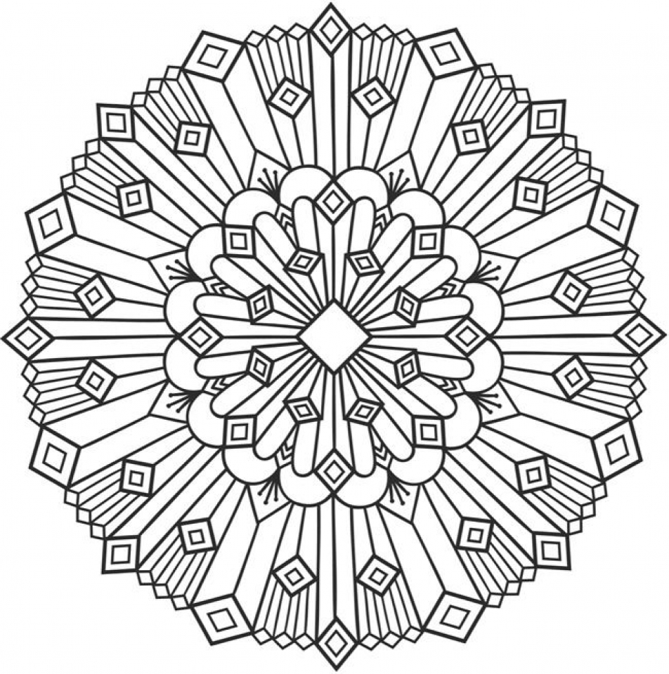 952x960 Get This Free Printable Art Deco Patterns Coloring Pages For Grown