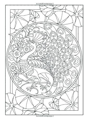 375x500 Art Deco Coloring Pages
