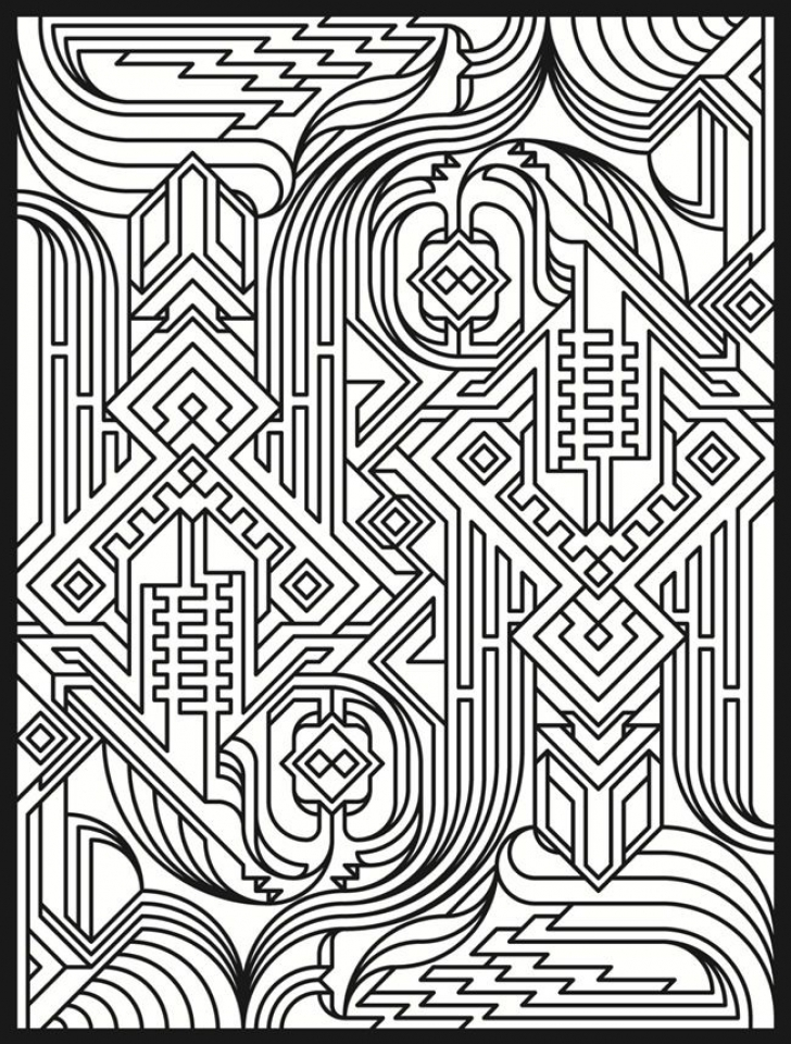 728x960 Art Deco Coloring Pages Educational Coloring Pages