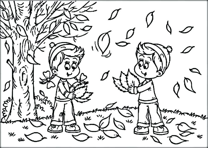 840x601 Autumn Coloring Pages Autumn Coloring Pages Autumn Coloring Pages