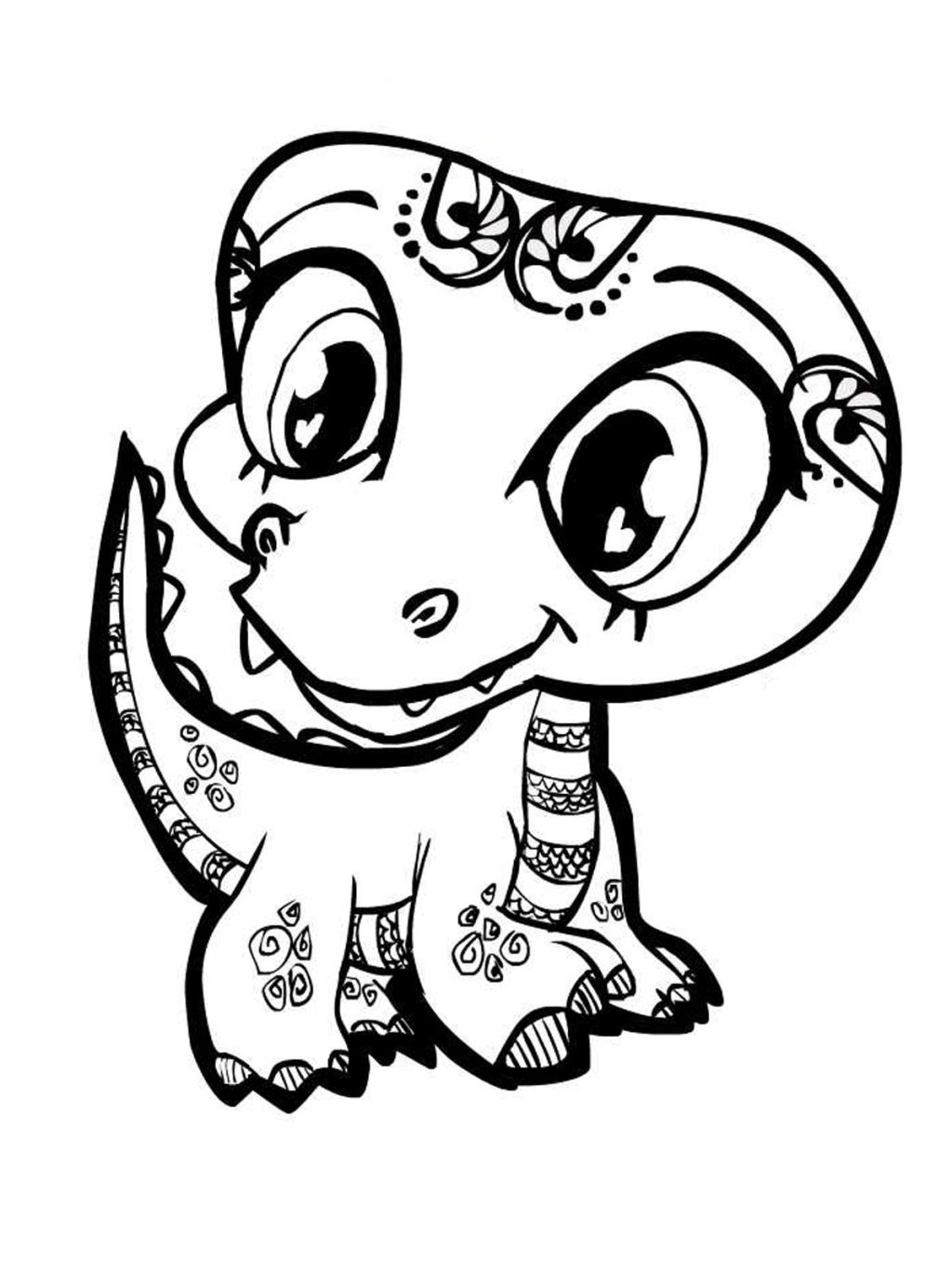Baby Animal Coloring Pages For Kids