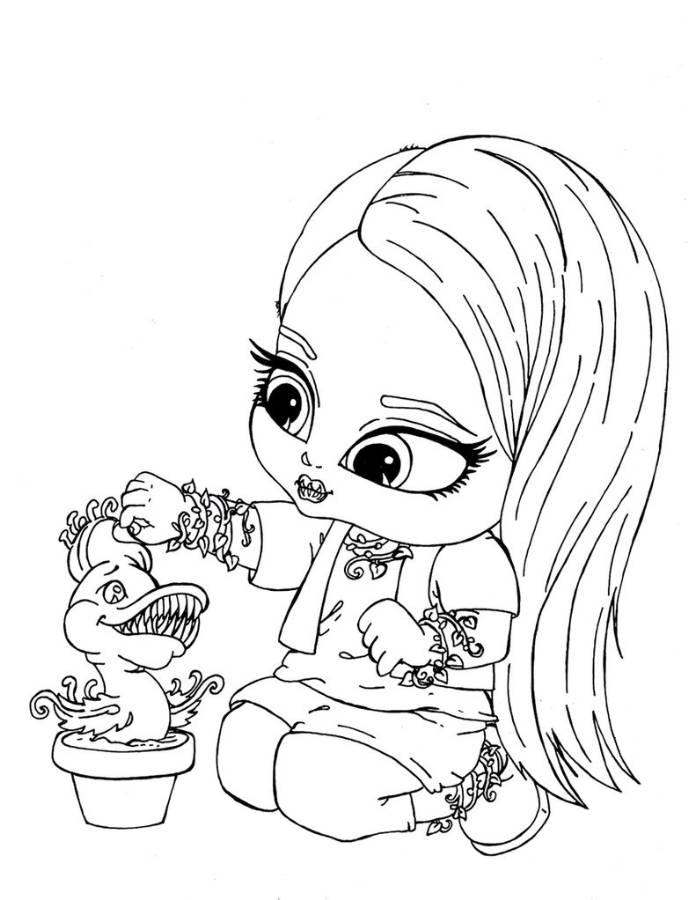 Free Printable Baby Coloring Pages at GetDrawings.com | Free ...