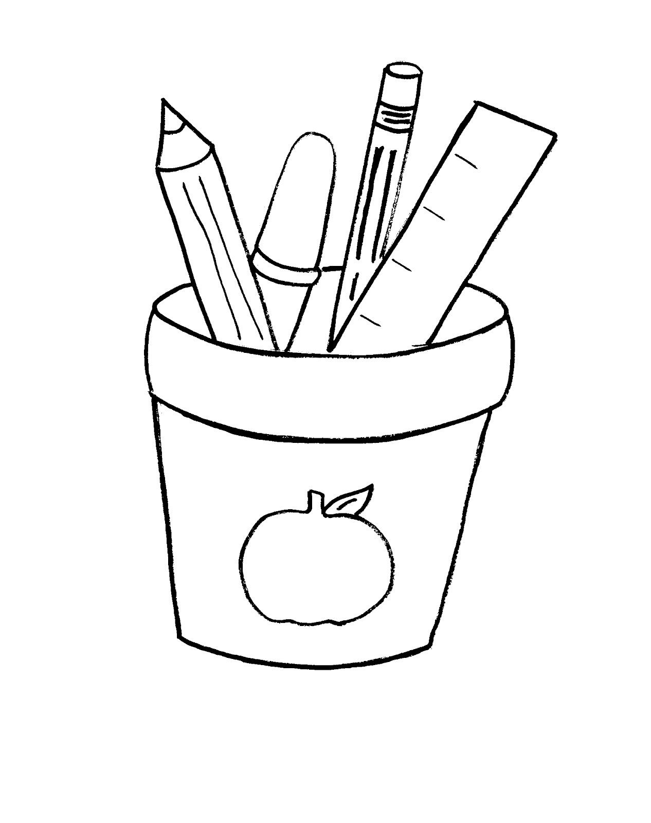 Free Printable Back To School Coloring Pages