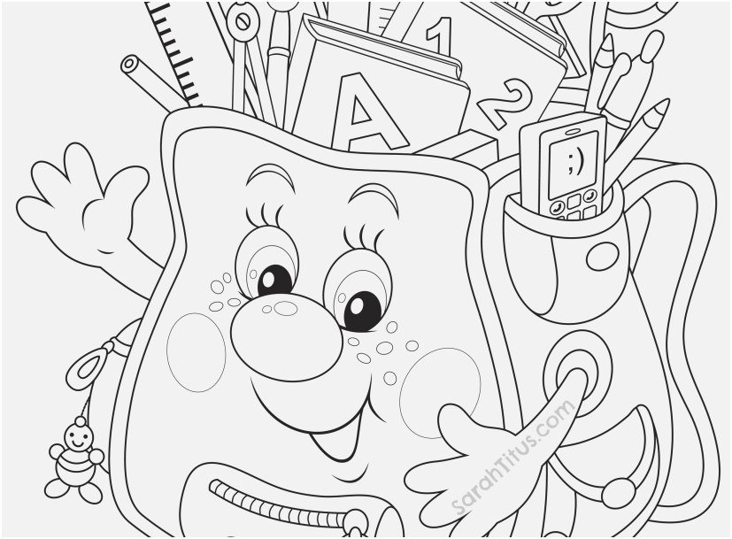Free Printable Back To School Coloring Pages At Getdrawings Com