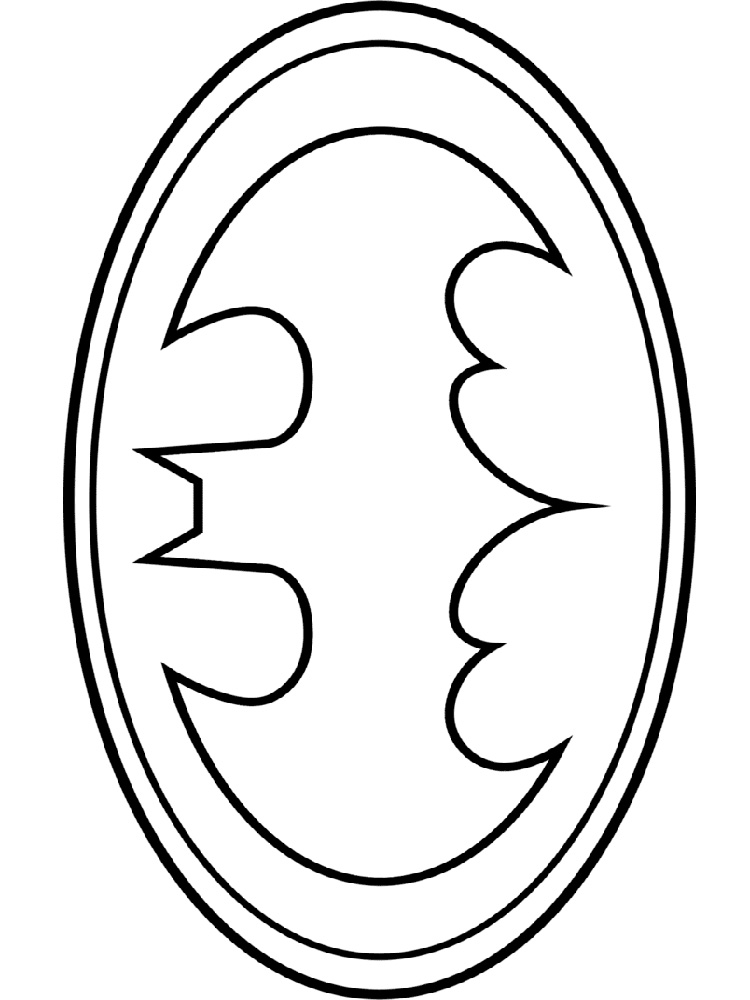 graphic regarding Free Printable Batman Logo identify Cost-free Printable Batman Symbol Coloring Web pages at