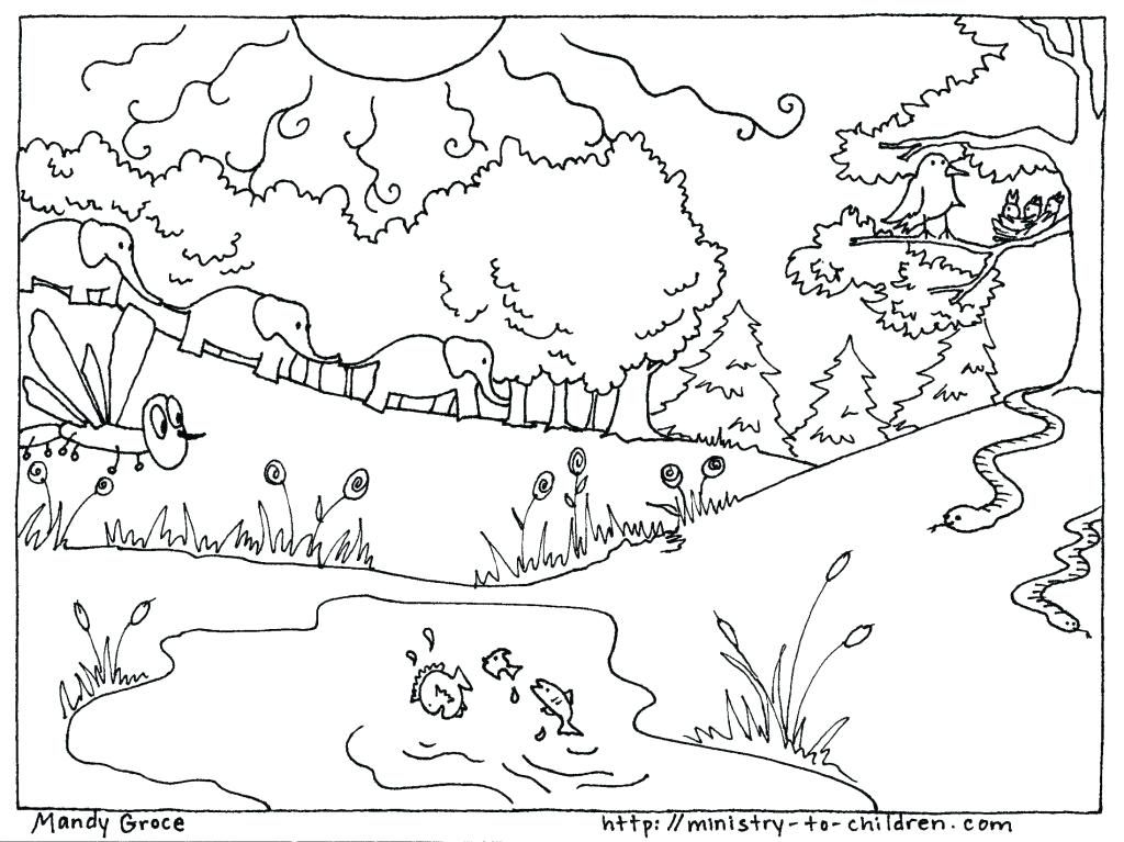Free Printable Bible Coloring Pages For Preschoolers At Getdrawings