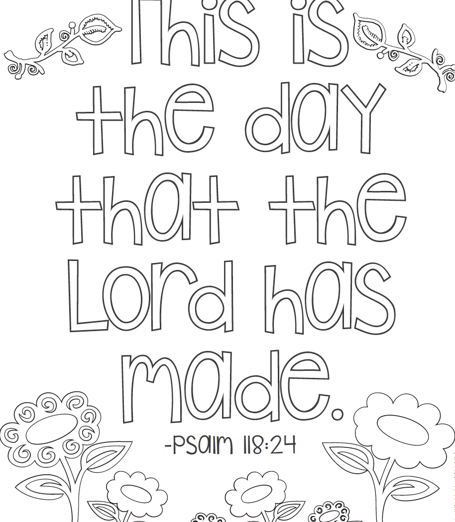 Free Printable Bible Verse Coloring Pages At Getdrawings Com Free