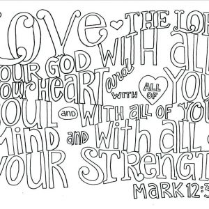 Free Printable Bible Verse Coloring Pages at GetDrawings com