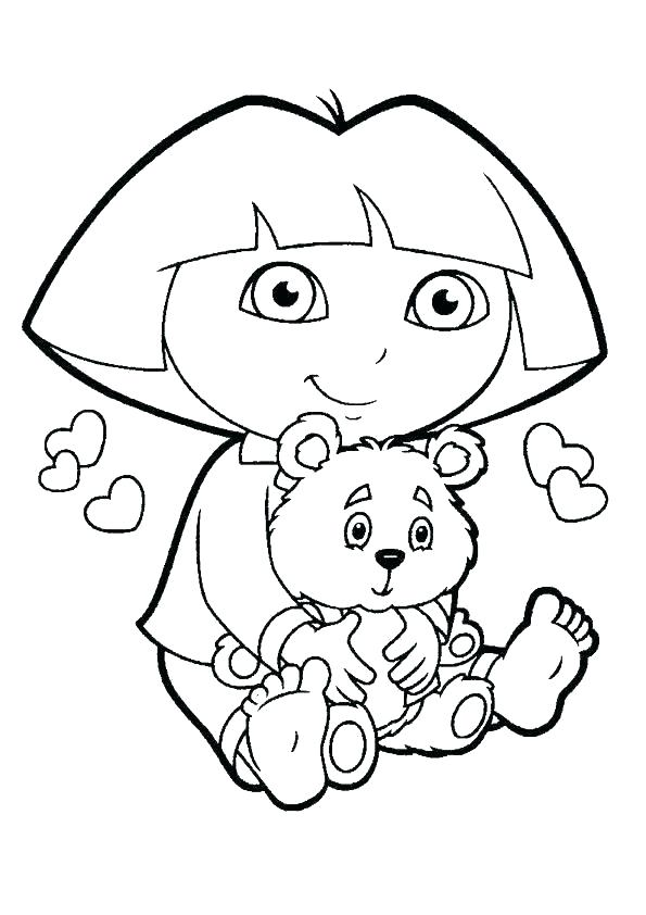 595x842 Free Printable Happy Birthday Coloring Pages Free Birthday