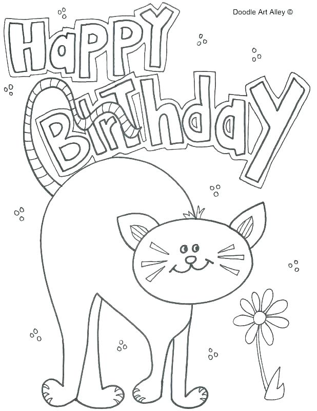 618x800 Happy Birthday Card Coloring Pages Birthday Card Coloring Pages