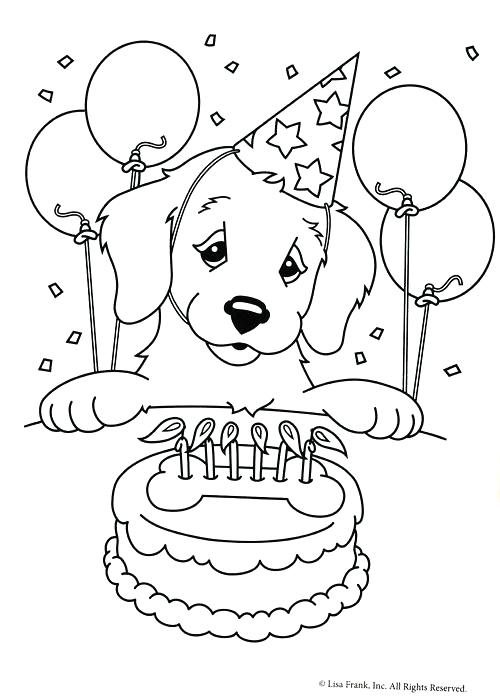 500x698 Birthday Color Pages Birthday Coloring Pages Sesame Street