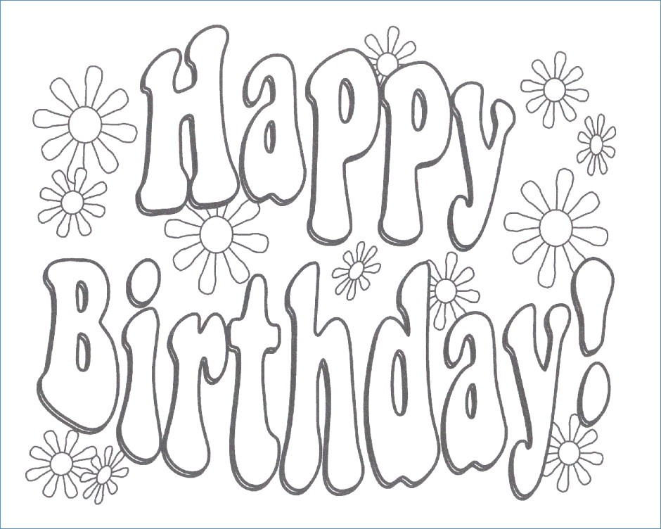 940x752 Hello Kitty Happy Birthday Coloring Pages
