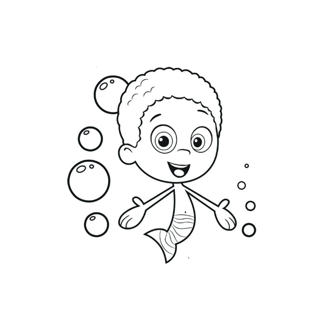 1024x1024 New Nick Jr Paw Patrol Printable Coloring Pages Bubble Guppies