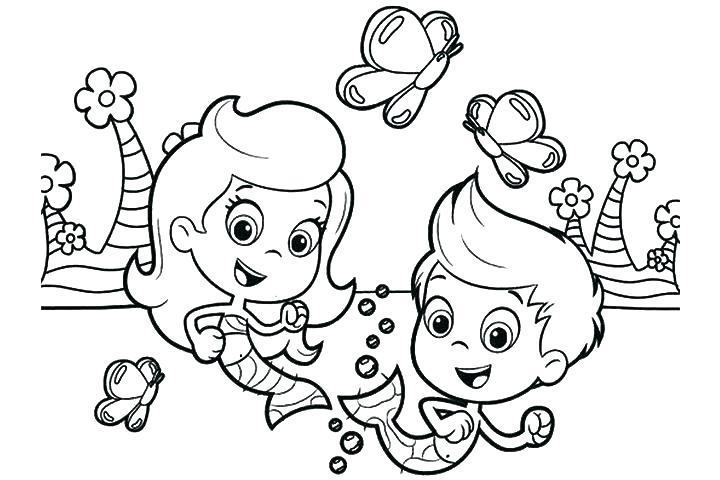 720x480 Bubble Coloring Pages Bubbles Coloring Pages Bubble Guppy Coloring