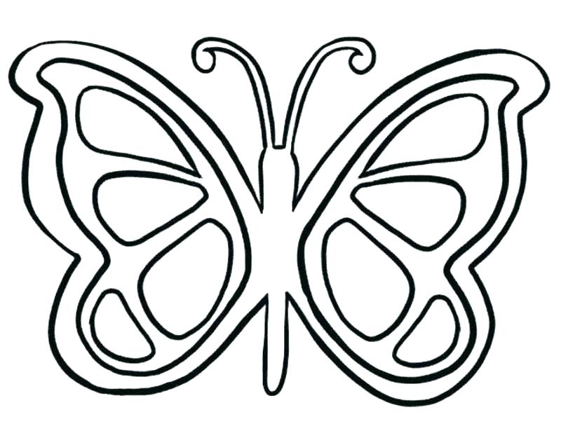 800x635 Butterflies Coloring Pages Butterfly Coloring Book Together