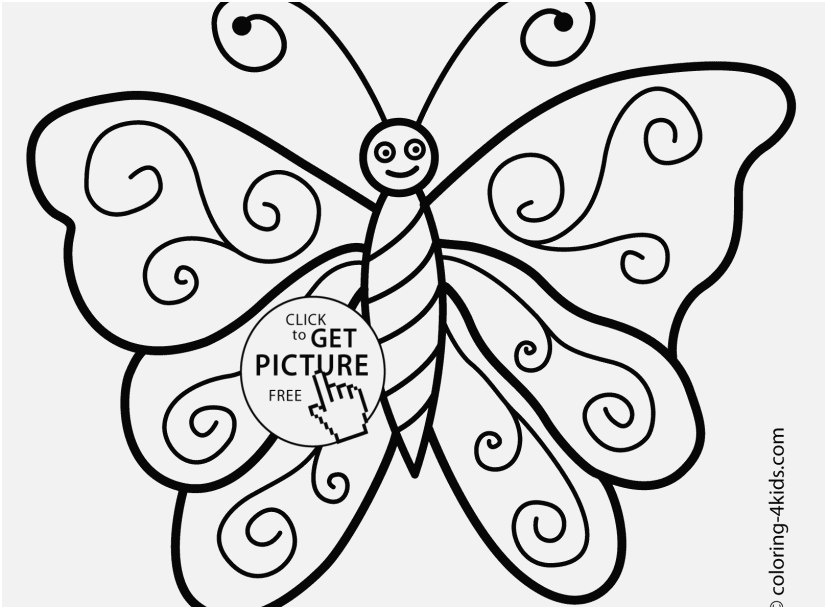 827x609 Printable Butterfly Coloring Pages Photo Coloring Pages Nice