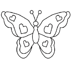 Free Printable Butterfly Coloring Pages at GetDrawings.com ...