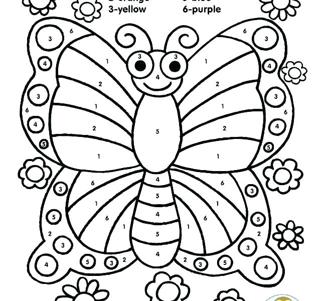 650x600 Small Butterfly Coloring Pages