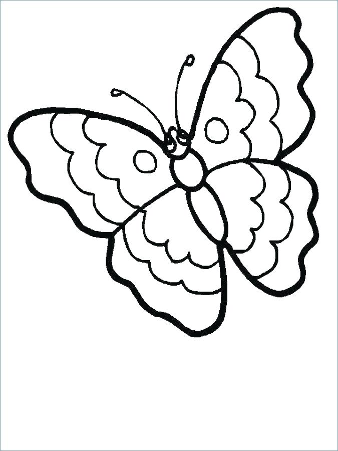 Free Printable Butterfly Coloring Pages For Kids at GetDrawings.com ...