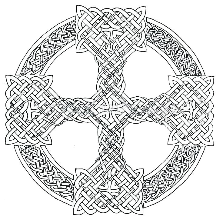 736x736 Knot Coloring Pages For Adults Free Printable Knot Adult Knot
