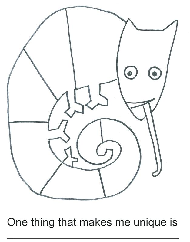 Free Printable Chameleon Coloring Pages at GetDrawings.com   Free ...