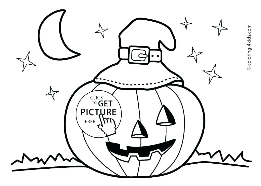 1024x731 Free Halloween Coloring Page Easy Coloring Pages Free Printable