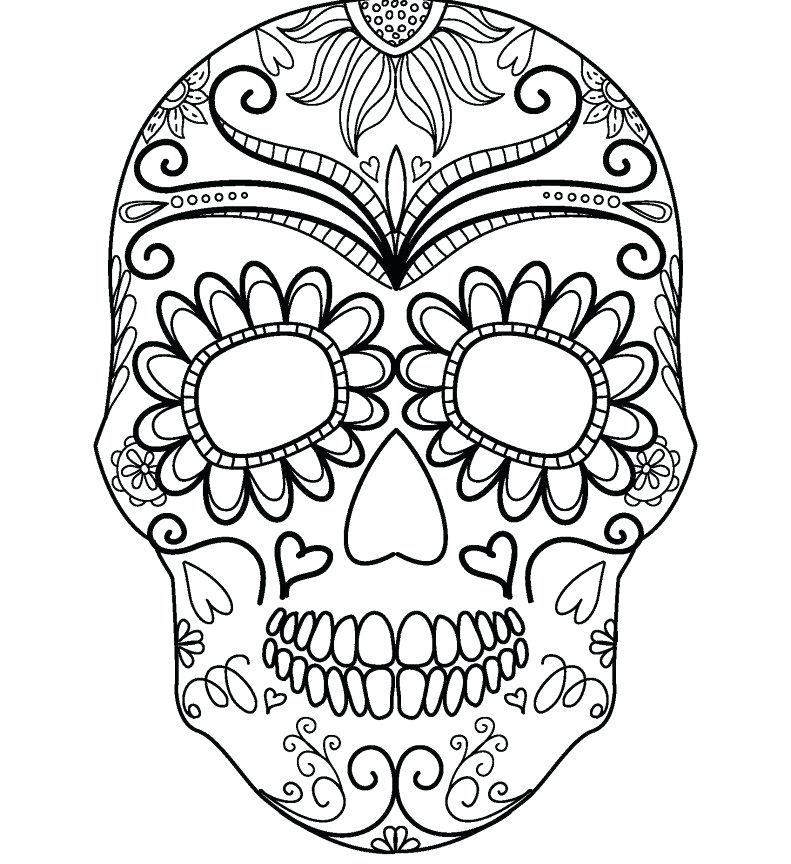 Halloween sheet - Halloween Adult Coloring Pages | 864x791