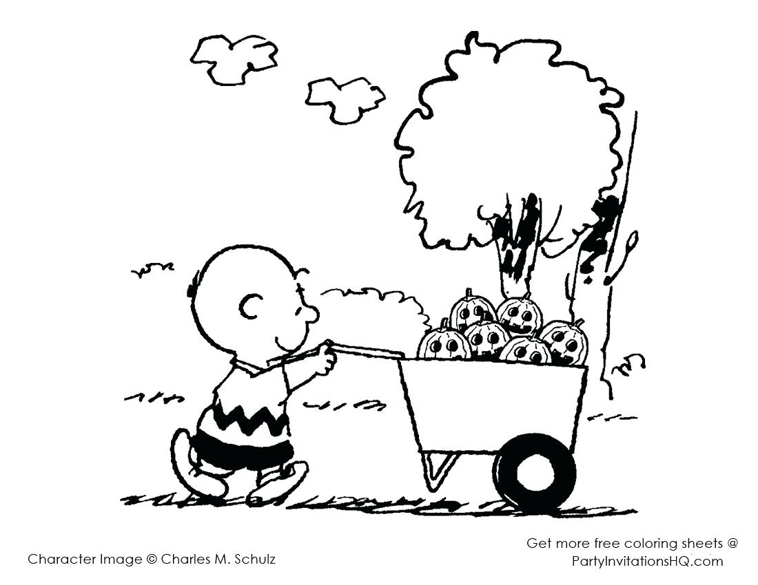 1100x850 Peanuts Characters Halloween Coloring Pages Charlie Brown Many