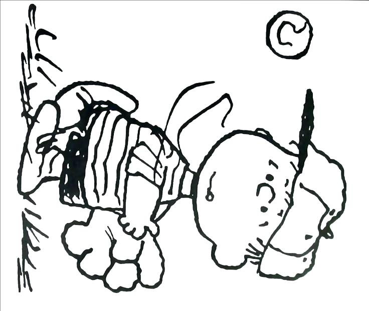 736x622 Snoopy Halloween Coloring Pages