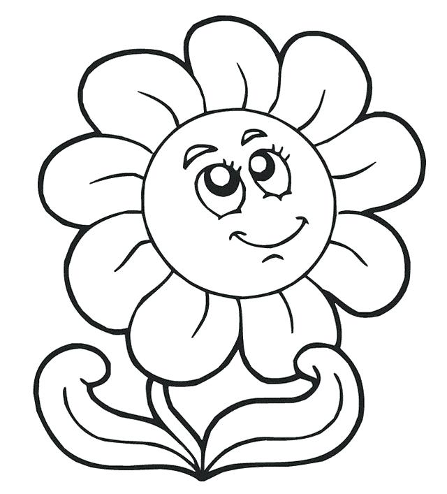 640x707 Free Printable Childrens Coloring Pages