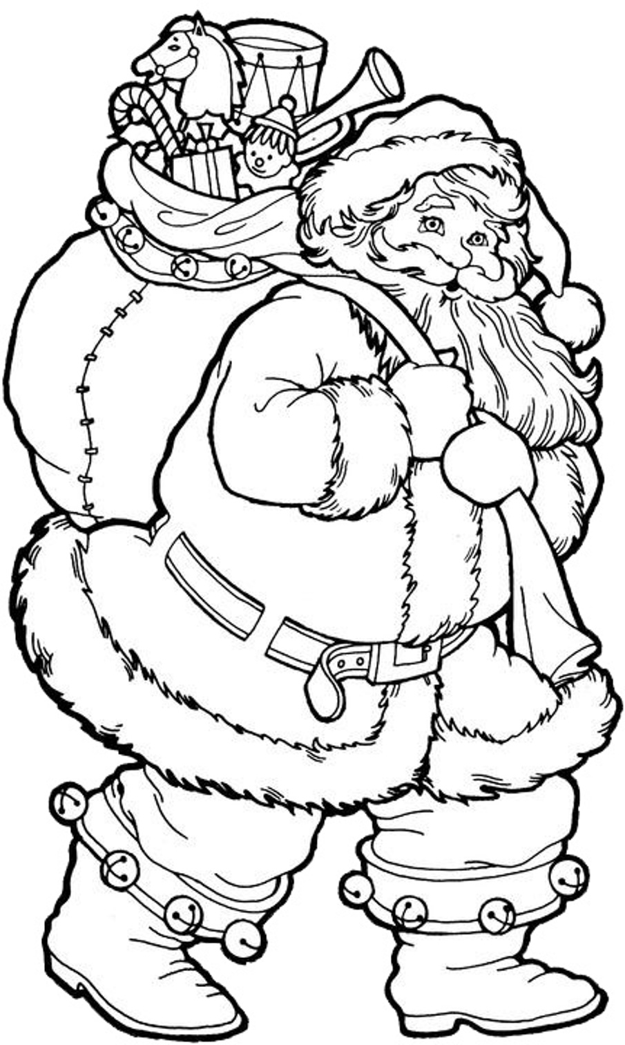 905x1512 Christmas Coloring Pages To Print Free Printable Kids Inside