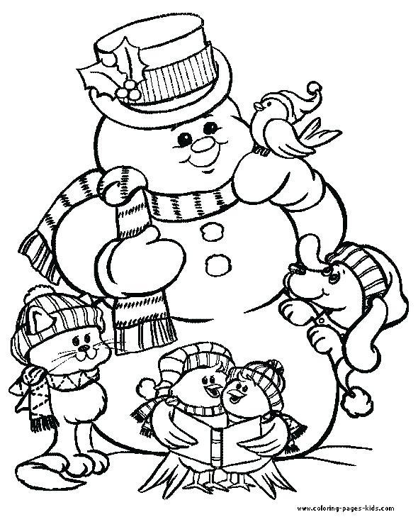 590x729 Christmas Coloring Sheets For Kids Fu Fuy Free Printable Christian