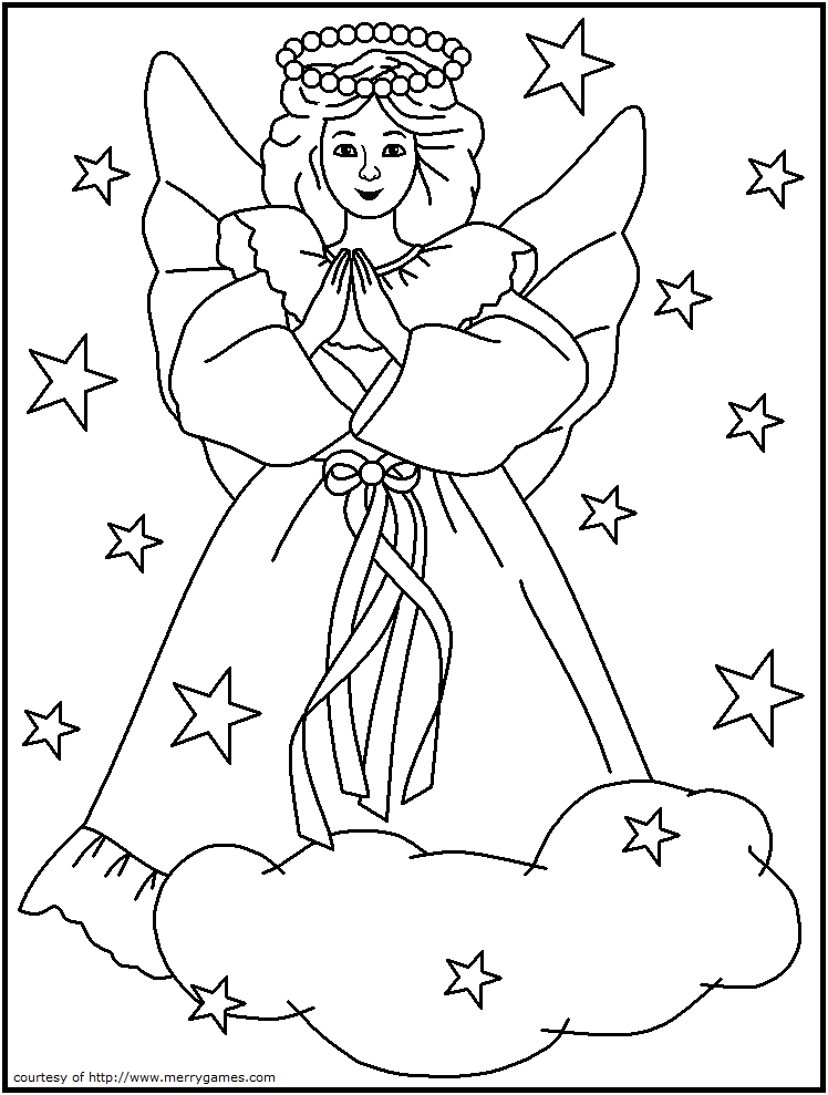 748x989 Religious Christmas Coloring Pages