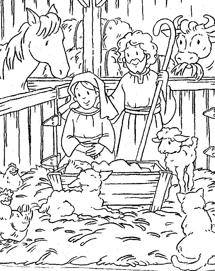 750x946 Religious Christmas Coloring Pages Coloring Pages Free My Little