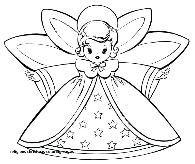 800x671 Religious Christmas Coloring Pages Printable