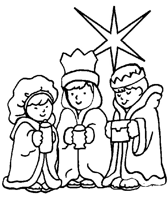 540x634 Free Christian Christmas Coloring Pages Free Christian Christmas